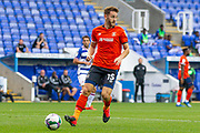 Luton Town defender Tom Lockyer (15) in his debut match, during the EFL Cup match between Reading and Luton Town at the Madejski Stadium, Reading, England on 15 September 2020.