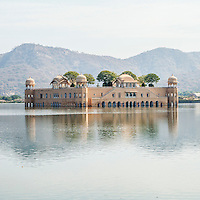 "Jal Mahal (meaning ""Water Palace"") is a palace located in the middle of the Man Sagar Lake in Jaipur city, India."
