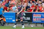 Leeds United defender Leif Davis (40)  during the EFL Sky Bet Championship match between Bristol City and Leeds United at Ashton Gate, Bristol, England on 4 August 2019.
