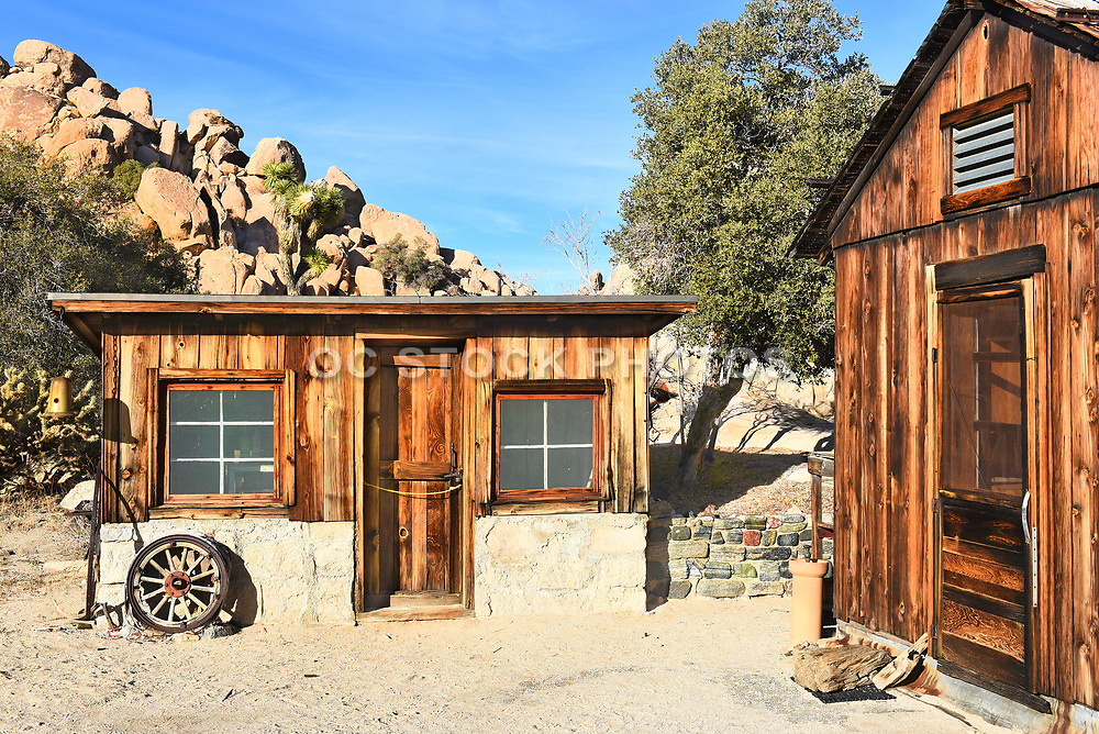 Keys Ranch Store and House in Joshua Tree National Park