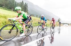 07.07.2017, St. Johann Alpendorf, AUT, Ö-Tour, Österreich Radrundfahrt 2017, 5. Kitzbühel - St. Johann/Alpendorf (212,5 km), im Bild Tom Jelte Slagter (NED, Cannondale Drapac Professional Cycling Team), Riccardo Zoidl (AUT, Team Felbermayr Simplon Wels), Anthony Perez (FRA, Cofidis Solutions Credits) // Tom Jelte Slagter (NED Cannondale Drapac Professional Cycling Team) Riccardo Zoidl (AUT Team Felbermayr Simplon Wels) Anthony Perez (FRA Cofidis Solutions Credits) during the 5th stage from Kitzbuehel - St. Johann/Alpendorf (212,5 km) of 2017 Tour of Austria. St. Johann Alpendorf, Austria on 2017/07/07. EXPA Pictures © 2017, PhotoCredit: EXPA/ JFK