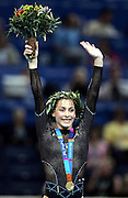 Catalina Ponor (ROM) celebrates gold medal,<br />