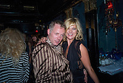 JOE CORRE; KATE MOSS, The Premiere of DD perfume by Agent Provocateur with a DD Fashion Show. Dolce. Air St. London. 25 September 2008 *** Local Caption *** -DO NOT ARCHIVE-© Copyright Photograph by Dafydd Jones. 248 Clapham Rd. London SW9 0PZ. Tel 0207 820 0771. www.dafjones.com.