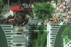 Philippaerts Ludo (BEL) - Darco<br /> World Equestrian Games Stockholm 1990<br /> Photo © Dirk Caremans