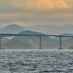 Terceira Ponte (Vitória / VilaVelha - ES) fotografado(a) em Vitória, capital do Espírito Santo, Sudeste do Brasil. Oceano Atlântico. Registro feito em 2019.<br /> ⠀<br /> ⠀<br /> <br /> <br /> <br /> <br /> <br /> <br /> <br /> ENGLISH: Third Bridge photographed in Vitória, Capital of Espírito Santo - Southeast of Brazil. Atlantic Ocean. Picture made in 2019.