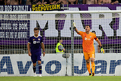 Jasmin Handanovic of NK Maribor during 2nd Leg football match between NK Maribor and FK Partizani Tirana in 1st Qualifying Round of UEFA Europa League 2018/18, on July 19, 2018 in Ljudski vrt, Maribor, Slovenia. Photo by Urban Urbanc / Sportida