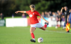 Gemma Evans of Bristol City in action- Mandatory by-line: Nizaam Jones/JMP - 27/10/2019 - FOOTBALL - Stoke Gifford Stadium - Bristol, England - Bristol City Women v Tottenham Hotspur Women - Barclays FA Women's Super League