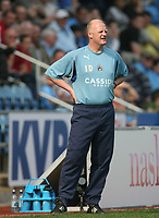 Photo: Rich Eaton.<br /> <br /> Coventry City v Preston North End. Coca Cola Championship. 14/04/2007. Iain Dowie watches his side lose 4-0 at home to Preston