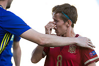 Spain's Sonia Bermudez during the match of  European Women's Championship 2017 at Leganes, between Spain and Finland. September 20, 2016. (ALTERPHOTOS/Rodrigo Jimenez)