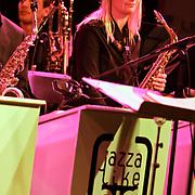 NLD/Huizen/20100917 - South Sea Jazz Huizen 2010, optreden Jazzlike Big Band