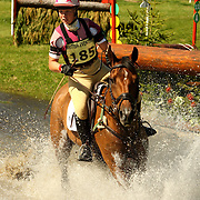 Nicole Mills (GBR) and Santo Domingo at the 2007 Blair Horse Trials held in Blair Atholl, Scotland