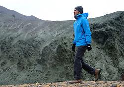 05-07-2014 NED: Iceland Diabetes Challenge dag 1, Landmannalaugar <br /> Vandaag ging de challenge van start. Met een bus gingen we van Vogar naar Landmannalaugar en zagen we de eerste tekenen van het prachtige landschap van IJsland / Eddy