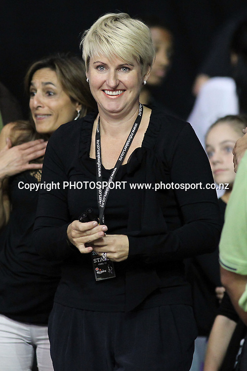 Breakers' owner Liz Blackwell. iinet ANBL, Semi-Final Game 3, New Zealand Breakers vs Perth Wildcats, North Shore Events Centre, Auckland, New Zealand. Wednesday 13th April 2011. Photo: Anthony Au-Yeung / photosport.co.nz