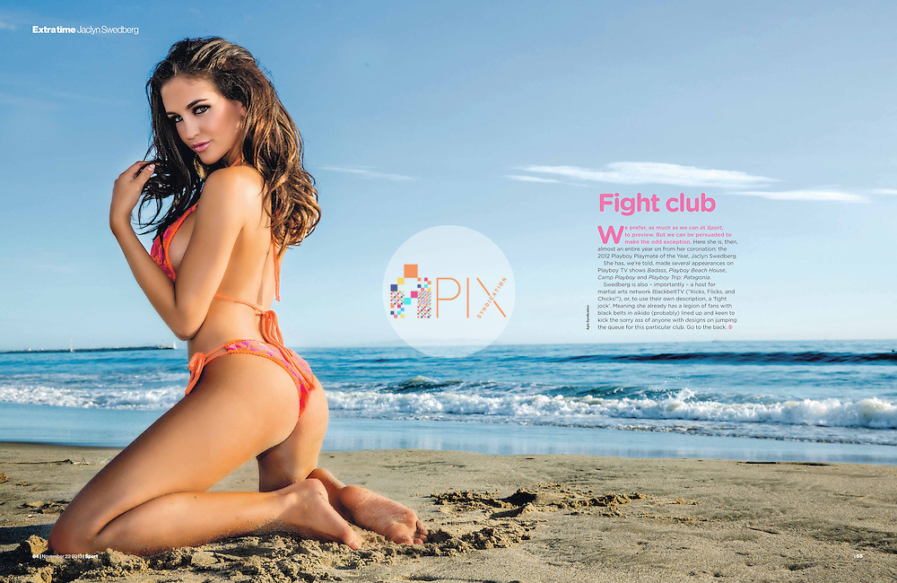 Jaclyn Swedberg in Sport Magazine UK :: 22 November 2013
