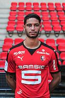 Pedro Filipe Mendes - 15.09.2015 - Photo officielle Rennes - Ligue 1 2015/2016<br /> Photo : Philippe Le Brech / Icon Sport
