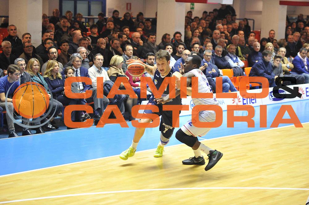 Brindisi 23.12.2015<br /> Basket Serie A - 13 giornata andata<br /> Enel Brindisi - Manital Torino<br /> <br /> Nella foto: Guido Rosselli<br /> <br /> FOTO CIAMILLO
