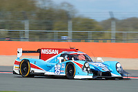 Chris Hoy (GBR) / Michael Munemann (GBR) / Parth Ghorpade (IND) / Andrea Pizzitola (FRA)  #25 Algarve Pro Racing, Ligier JS P2, Nissan VK45DE 4.5 L V8, during the Race  as part of the ELMS 4 Hours of Silverstone 2016 at Silverstone, Towcester, Northamptonshire, United Kingdom. April 16 2016. World Copyright Peter Taylor. Copy of publication required for printed pictures.