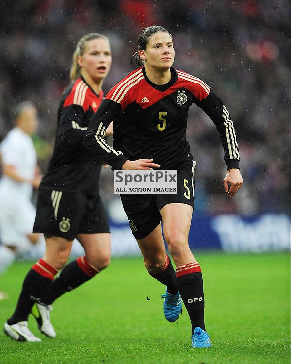 Annie Krahn, Germany, England v Germany Ladies, Breast Cancer Care International, Wembley , Sunday 23rd November 2014