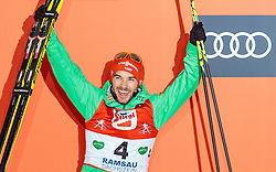 18.12.2016, Nordische Arena, Ramsau, AUT, FIS Weltcup Nordische Kombination, Siegerehrung, im Bild Fabian Riessle (GER, 2. Platz) // 2nd placed Fabian Riessle of Germany during Winner Award Ceremony of FIS Nordic Combined World Cup, at the Nordic Arena in Ramsau, Austria on 2016/12/18. EXPA Pictures © 2016, PhotoCredit: EXPA/ JFK