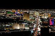 "US-LAS VEGAS: Las Vegas Boulevard (""The Strip"") as seen from the ""Stratosphere Tower"".PHOTO GERRIT DE HEUS"