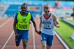 Timothee Adolphe, 2014 IPC European Athletics Championships, Swansea, Wales, United Kingdom