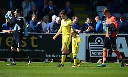- Mandatory by-line: Alex James/JMP - 08/04/2017 - FOOTBALL - Cherry Red Records Stadium - Kingston upon Thames, England - AFC Wimbledon v Bristol Rovers - Sky Bet League One