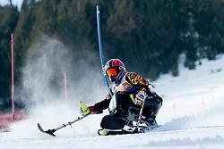 ALLAERT Eline, BEL, Slalom, 2013 IPC Alpine Skiing World Championships, La Molina, Spain