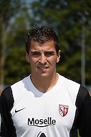 Johann CARRASSO - 01.08.2014 - Photo Officielle de Metz -<br /> Photo : Fred Marvaux / Icon Sport