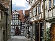 Altstadt, Treffurt, Werra, Thüringen, Deutschland   old town of Treffurt, Thuringia, Germany