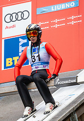 Daniela Haralambie of Romania during Day 3 of World Cup Ski Jumping Ladies Ljubno 2019, on February 10, 2019 in Ljubno ob Savinji, Slovenia. Photo by Matic Ritonja / Sportida