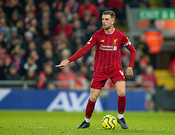 LIVERPOOL, ENGLAND - Saturday, November 30, 2019: Liverpool's captain Jordan Henderson during the FA Premier League match between Liverpool FC and Brighton & Hove Albion FC at Anfield. (Pic by David Rawcliffe/Propaganda)