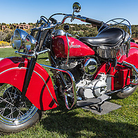 1947 Indian Chief, at the 2012 Santa Fe Concorso.