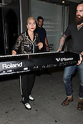 August 16, 2016 - New York, NY, USA<br /> <br /> Lady Gaga was seen leaving a recording studio in the West Village on August 16, 2016 in New York City<br /> ©Exclusivepix Media