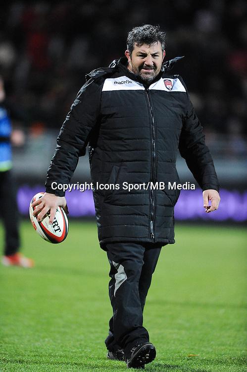 Olivier AZAM - 28.12.2014 - Lyon Olympique / Clermont - 14eme journee de Top 14 <br />Photo : Jean Paul Thomas / Icon Sport