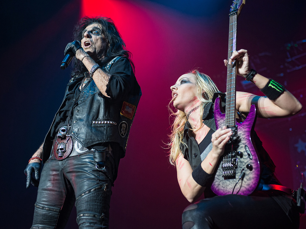 Alice Cooper in concert at theSSE Hydro, Glasgow, Scotland, Britain 12th November 2017