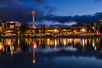 Space Needle Reflection, Lake Union Park