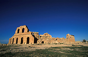 The Unesco world heritage sight Sabratha, Roman theatre, Libya