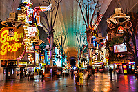 Glitz of the Fremont Street Experience