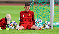 ROTTACH-EGERN, GERMANY - Friday, July 28, 2017: Liverpool's Philippe Coutinho Correia after a training session at FC Rottach-Egern on day three of the preseason training camp in Germany. (Pic by David Rawcliffe/Propaganda)