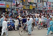Busy street Scene, Pakistan