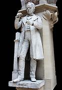 Hans Christian Oersted, (1777 - 1851) Danish physicist.