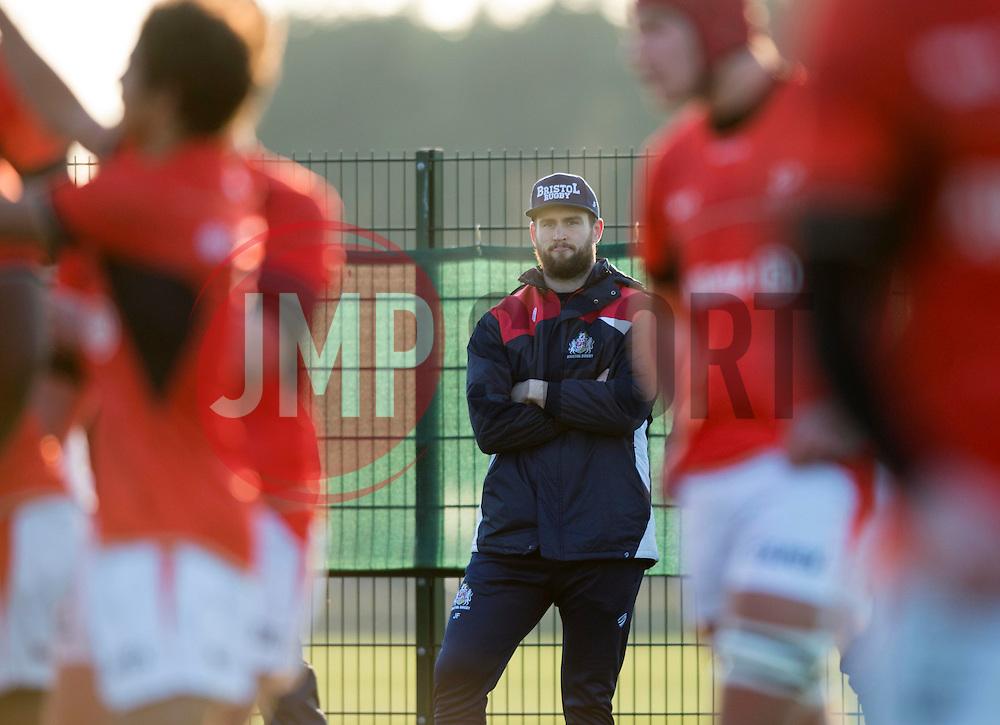 Jon Fisher of Bristol rugby looks on - Mandatory by-line: Paul Knight/JMP - 21/01/2017 - RUGBY - SGS Wise Campus - Bristol, England - Bristol Academy U18 v Saracens Academy U18 - Premiership Rugby Academy U18 League