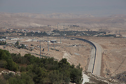 A view of the wall of separation taken from East Jerusalem. From a series of photos commissioned by  British NGO, Medical Aid for Palestinians (MAP).