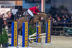 Deraedt Christof, BEL, Secret Treasure<br /> Pavo Hengstencompetitie<br /> Azelhof Lier 2020<br /> © Hippo Foto - Dirk Caremans