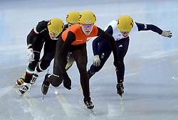 10-02-2014 SHORTTRACK: OLYMPIC GAMES: SOTSJI<br /> Jorien ter Mors wint de 500 m<br /> ©2014-FotoHoogendoorn.nl