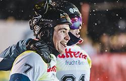 08.01.2019, Bucheben Piste, Bad Gastein, AUT, FIS Weltcup Snowboard, Parallelslalom, Herren, Siegerehrung, im Bild Sieger Stefan Baumeister (GER) // Winner Stefan Baumeister of Germany during the winner Ceremony for the men's parallel Slalom of the FIS Snowboard Worldcup at the Bucheben Piste in Bad Gastein, Austria on 2019/01/08. EXPA Pictures © 2019, PhotoCredit: EXPA/ JFK