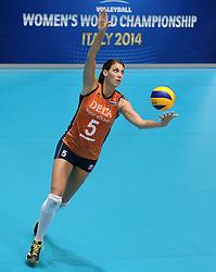 08-08-2014 NED: FIVB Grand Prix Nederland - Puerto Rico, Doetinchem<br /> Robin de Kruijf