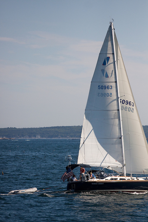 Sailboat - Boothbay Harbor, Maine