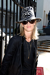 NICOLA FORMBY at the memorial service of Isabella Blow held at the Guards Chapel, London W1 on 18th September 2007.<br />