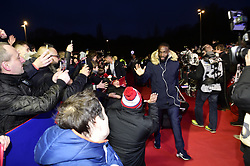 March 15, 2019 - Lille, France, FRANCE - Arrivee au Stade des joueurs Lillois.Jonathan Bamba  (Credit Image: © Panoramic via ZUMA Press)